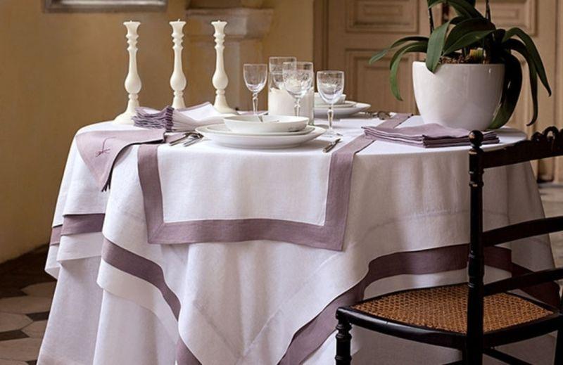 Как подобрать скатерть для ресторана?