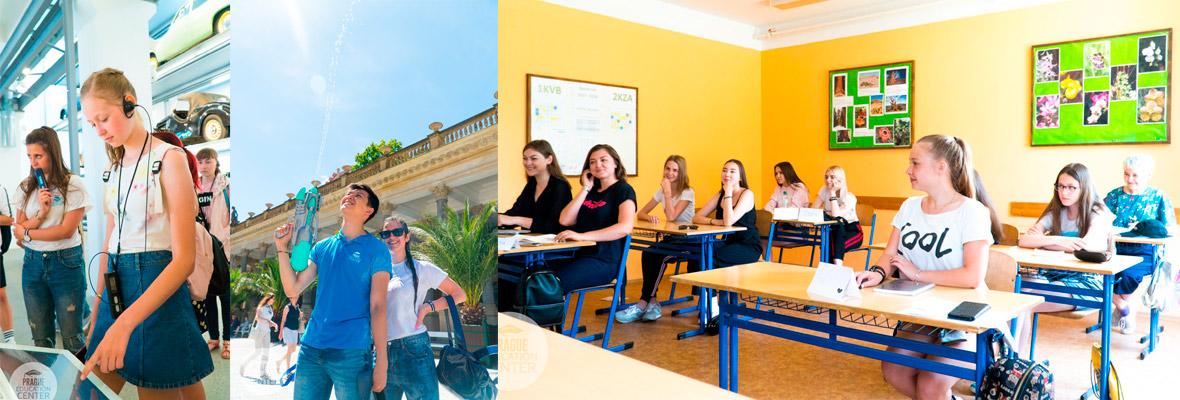 Методика обучения до уровня В2 в Prague Education Center