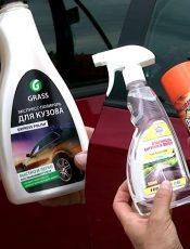 Полироли для стекла авто: виды и характеристики