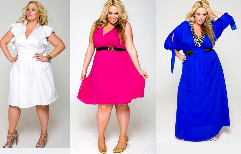 Как выбрать платье большого размера?