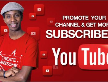 Youtube channel promotion